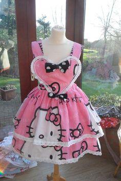 #Hello Kitty Dress