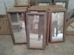 indian antique mirror frame