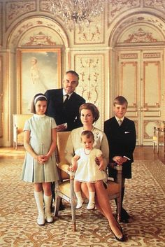 Monaco royal family 1967