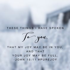 Oh that I would live knowing his joy lives in me! Living a life of loving others brings joy. Living a life of loving God brings joy overflowing. Happy Monday! #purejoy#biblereadingplan #biblereading Day 16