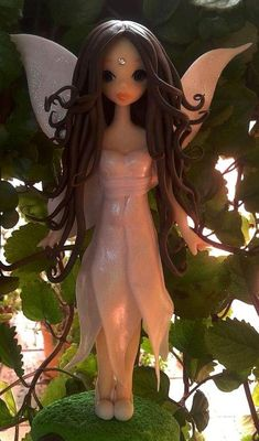 Ada Fairy made out of polymer clay