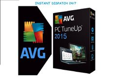AVG PC TuneUp 2015 digital download + Product Key Instant Dispatch 24/7