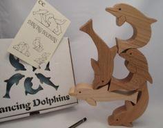 다섯가지 단위체로 여러가지 형태 구성할 수 있는 좋은 예임. '모듈'작업시 참고할것 Dancing Dolphins