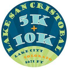 Lake San Cristobal 5k/10k Race Logo Lake San Cristobal 5k/10k Race - Lake City, CO #colorado #GunnisonCO #shoplocal #localCO