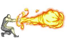 Firebending Double Fist