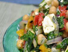 Mediterranean Chick Pea Salad