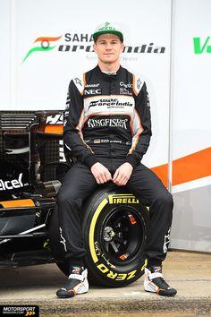 Formel 1 2016, Präsentationen, Nico Hülkenberg, Force India, Bild: Sutton