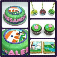 Cake Pequeña Lola #PrityCakes #pritycakes #cake #torta #pastel #cupcakes #cakepoos #galletas #cookies #edibleprints #pequeñalola #pequeñalolababytv #littlelola #littlelolababytv #babytv #panama #panamacake #pastry #pty #pty507