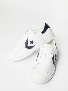 Gemma Low Top Sneaker | Simple sneaker with a retro touch, these leather low-top kicks feature the classic Converse logo.    * Comfortable footbed and durable rubber sole for all day wear