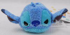 Disney Store Angry Stitch Mini Tsum Tsum Plush New