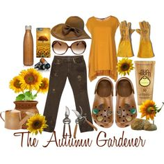 The Autumn Gardener by prettyyourworld on Polyvore featuring Denim & Supply by Ralph Lauren, Oliver Peoples, Sun Bum, Jayson Home and Godinger