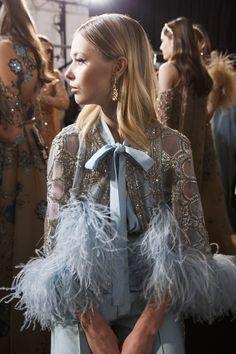 Backstage at Elie Saab Couture Spring 2017 - Beautiful Backstage Couture Photos From Paris - Photos