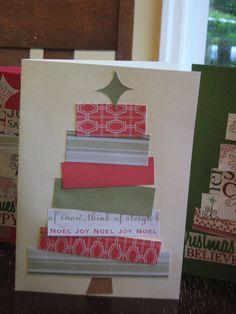 Rindy Mae: Homemade Christmas Cards