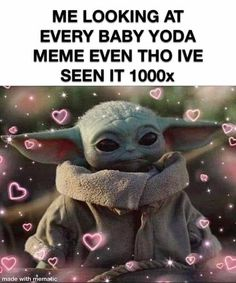 Yoda Funny, Yoda Meme, Funny Quotes, Funny Memes, Hilarious, Star Wars Jokes, Fiction Movies, The Force Is Strong, Disney Star Wars