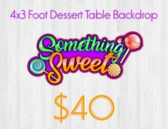 This item is unavailable Dessert Table Backdrop, Custom Backdrops, Neon Signs, Etsy Shop, Handmade Gifts, Check, Kid Craft Gifts, Craft Gifts, Diy Gifts