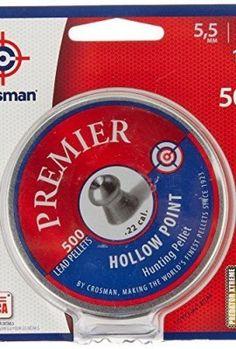 Crosman Premier Hollow Point Pellet .22 cal, 500 count