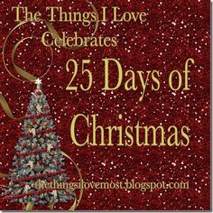Such a fun way to count down the days to Christmas!