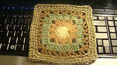 "Ravelry: Julia's Flower - 6"" Square pattern by Melinda Miller"