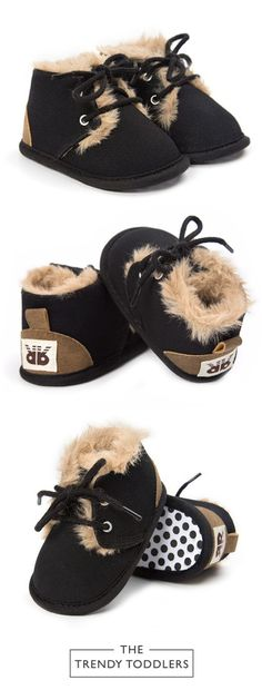 Need a new pair of shoes? SHOP Our Black Faux Fur Boots for Baby Boys & Girls Little Boy Fashion, Baby Girl Fashion, Kids Fashion, Fashion Clothes, Fashion Games, Fashion Dresses, Baby Outfits, Kids Outfits, Newborn Outfits
