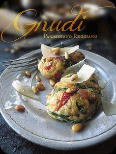 """The Brooklyn Ragazza: """"LEGENDS from EUROPE"""" Recipe Contest Winner!!! ~ Parmigiano Reggiano Gnudi with Spinach & Sun-Dried Tomato"""