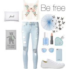 be free by mayse-locker on Polyvore