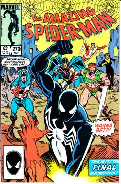 Amazing Spider-Man 1963 1st Series 270 November by ViewObscura