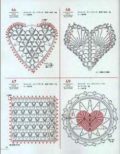 Crochet and arts: crochet motifs Grannies Crochet, Crochet Motifs, Crochet Diagram, Crochet Squares, Crochet Chart, Thread Crochet, Crochet Stitches, Crochet Patterns, Crochet Embellishments
