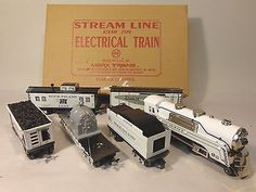 MARX TRAINS 10251 ROCK IS WHITE SET BOXED O-GAUGE #X9853