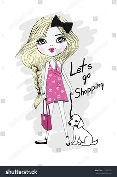 Find Little Cute Illustration Girl stock images in HD and millions of other royalty-free stock photos, illustrations and vectors in the Shutterstock collection. Thousands of new, high-quality pictures added every day. Illustration Mignonne, Illustration Girl, Little Girl Cartoon, Little Girls, Pink Panthers, Portfolio, Doll Patterns, Royalty Free Stock Photos, Children