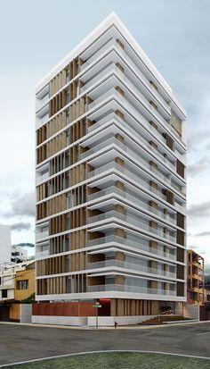 Edificio Multifamiliar Plenamar, Miraflores Lima PERU - Vértice Arquitectos Like this.
