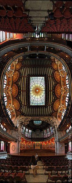 Palau de la Musica Catalana, Barcelona, Spain | Explore Gast… | Flickr - Photo Sharing!