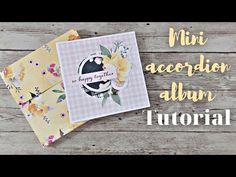 Μίνι άλμπουμ Accordion   Tutorial   Nitwit Συλλογές   Μαρίνα Μανιώτη - YouTube Mini Albums Scrap, Mini Album Tutorial, Card Making Kits, Baby Album, Digital Scrapbooking Layouts, Baby Shower, Bridal Shower, Cardmaking, Paper Crafts