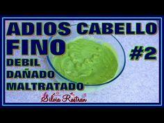 Cabello Fino, Esto Lo Engrosara Y Dara Mucho Volumen Realmente Funciona \\ Silvia Rostran - YouTube