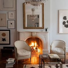 New York apartment with vintage details