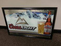 Small coors mirror coors pinterest aloadofball Image collections