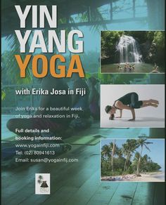 Yoga Fiji retreat in Fiji wohoo who is keen:)? Next year 3 rd to 10 th of June 2017. If you registered before end of December you get $200 off can t wait!!! #Fiji #yoga #retreat #island #sunshine #palmtrees #holiday#retreat #theyogaloungenz#yinyang #yin #yang