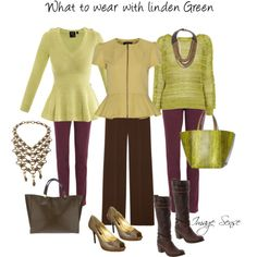 Linden green and brown
