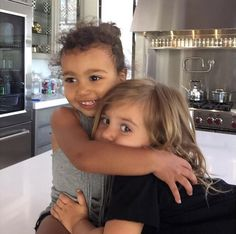 North West and Penelope Disick may be the cutest celebrity kids on Instagram.