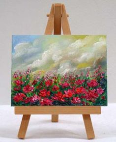 Valda Fitzpatrick Poppies In the Field Of Italy absolutearts.com