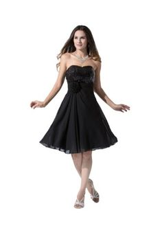Felaladress 2014 Girl's New Short Black Chiffon Sweetheart Sequined Size 6-30 Party Cocktail Bridesmaid Party Prom Dresses Evening Gown Felaladress http://www.amazon.co.uk/dp/B00MXXPSCW/ref=cm_sw_r_pi_dp_3yoiub0Z8F677