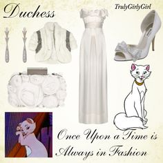 """""""Disney Style: Duchess"""" by trulygirlygirl ❤ liked on Polyvore"""