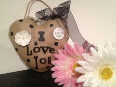 I Love You  Tell the person you love with this fun by Bedotted, $10.00