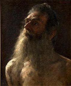 Munich Head (Man with Beard) by William Forsyth