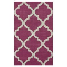 "Bring breezy Moroccan inspiration to your home decor with this flatweave rug, showcasing a handcrafted quatrefoil motif.  Product: RugConstruction Material: 100% WoolColor: RedFeatures:  FlatweaveHandmade in IndiaPile Height: 0.25""Note: Please be aware that actual colors may vary from those shown on your screen. Accent rugs may also not show the entire pattern that the corresponding area rugs have.Cleaning and Care: Spot treat with a mild detergent and water. Professional cleaning is ..."