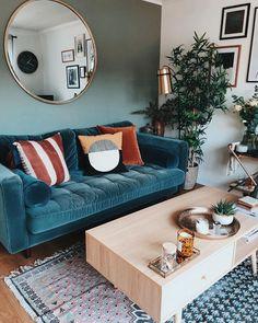 Bohemian Home decor Design And Ideas - Bohemian Home Living Room Home Living Room, Apartment Living, Living Room Designs, Living Room Decor, Living Spaces, Decor Room, Bedroom Apartment, Home Interior, Interior Design