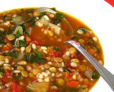 SOSCuisine: Soupe à l'orge et aux lentilles