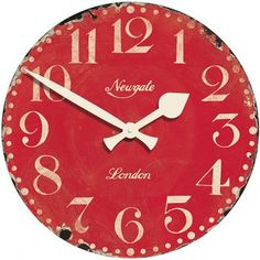 Market Hall Clock - Round Clock - Colorful Wall Clocks - Decorative Clocks - Wall Clocks - Wall Decor | HomeDecorators.com