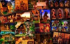Birdhouse Follies collage