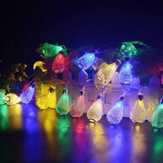 BlueFire 50 Leds Christmas String Lights Water Drop String Lights Fairy Ambiance Lighting for Garden - LED Christmas lights Light Fixtures Bedroom Ceiling, Outdoor Light Fixtures, Pendant Light Fixtures, Christmas Fairy, Christmas Holidays, Decorative Night Lights, Christmas String Lights, Novelty Lighting, Thing 1