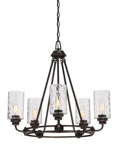 View the Designers Fountain 87185-OEB Old English Bronze Gramercy Park 5 Light 1 Tier Chandelier at Build.com.